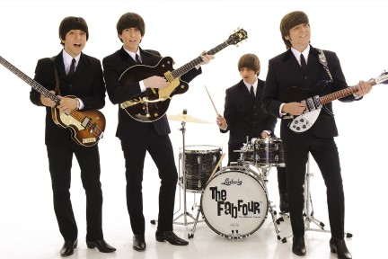 Photo of Fab Four band members
