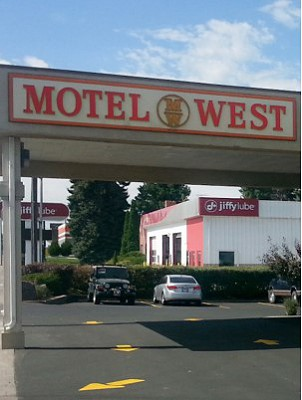 Photo motel entrance
